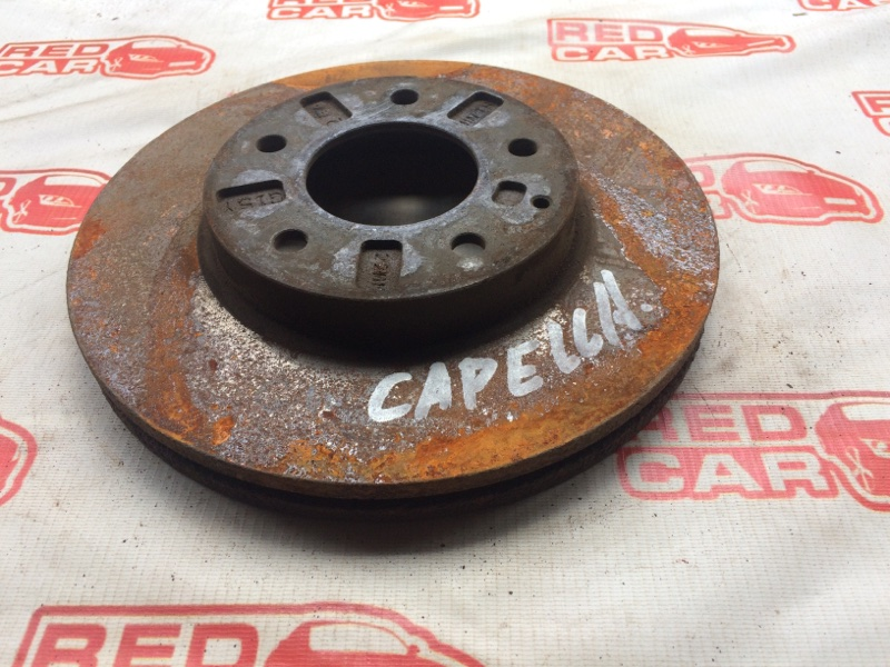 Тормозной диск Mazda Capella GWERP передний (б/у)
