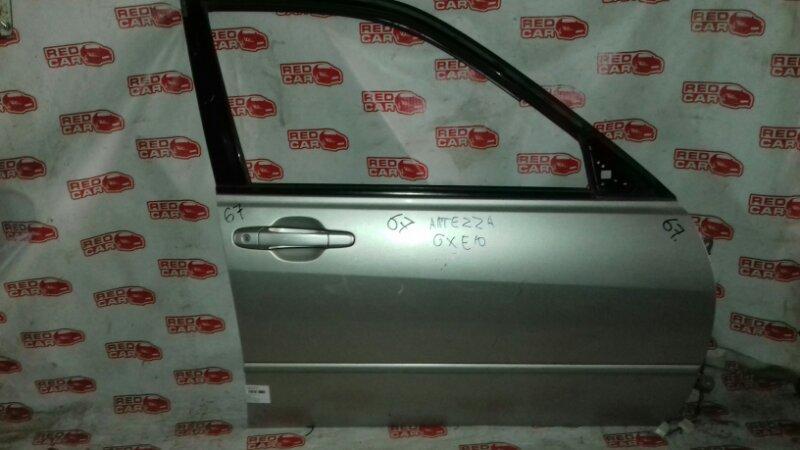 Дверь Toyota Altezza GXE10 передняя правая (б/у)