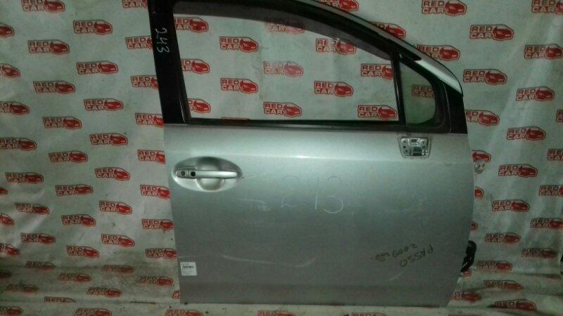 Дверь Toyota Passo Sette M502E передняя правая (б/у)