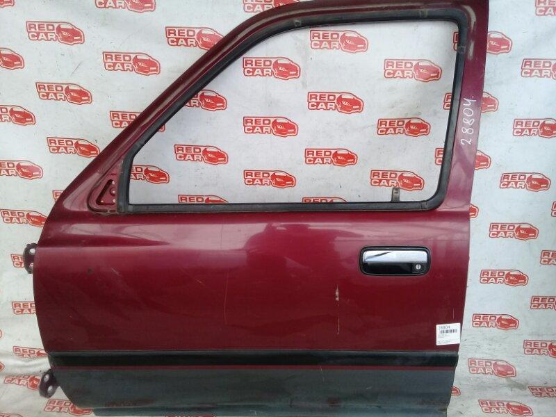Дверь Toyota Surf KZN130 передняя левая (б/у)