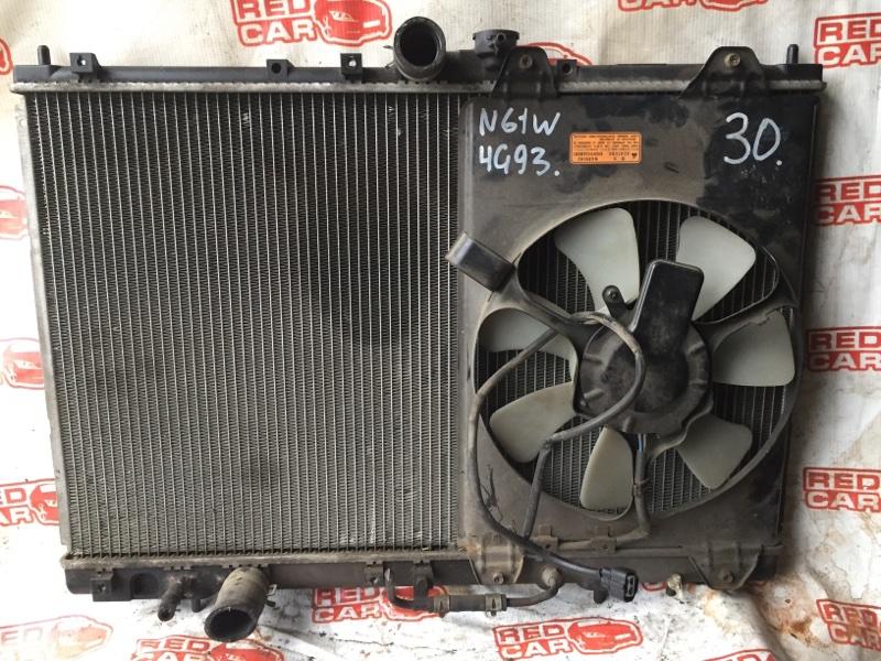 Радиатор основной Mitsubishi Chariot N61W 4G93 (б/у)
