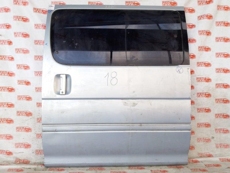 Дверь боковая Toyota Hiace KZH106 задняя левая (б/у)