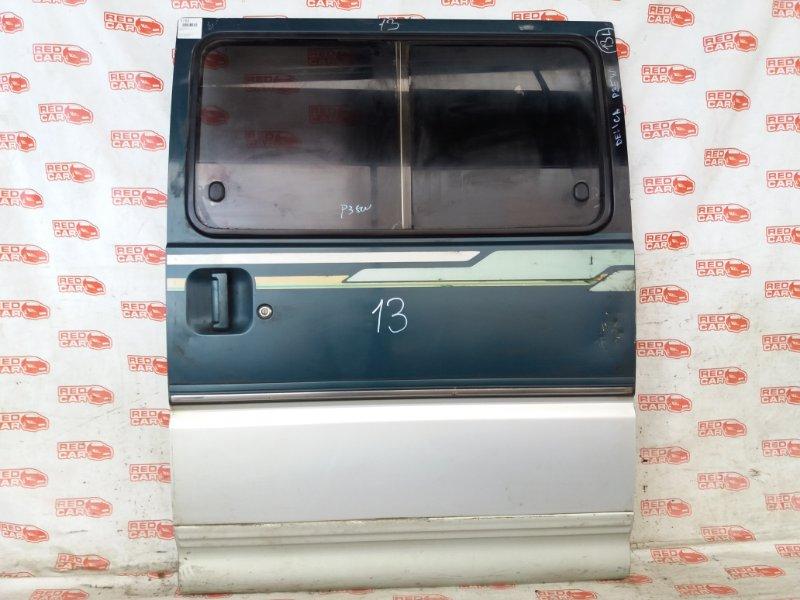 Дверь боковая Mitsubishi Delica P35W задняя левая (б/у)