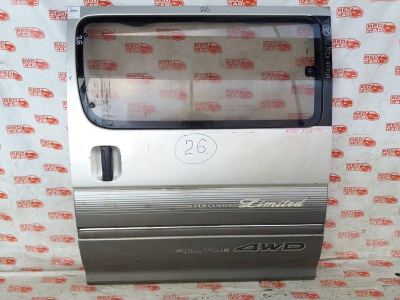 Дверь боковая Toyota Hiace KZN106 задняя левая (б/у)