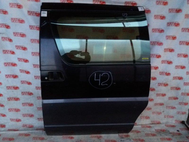 Дверь боковая Nissan Elgrand AVEW50 задняя левая (б/у)