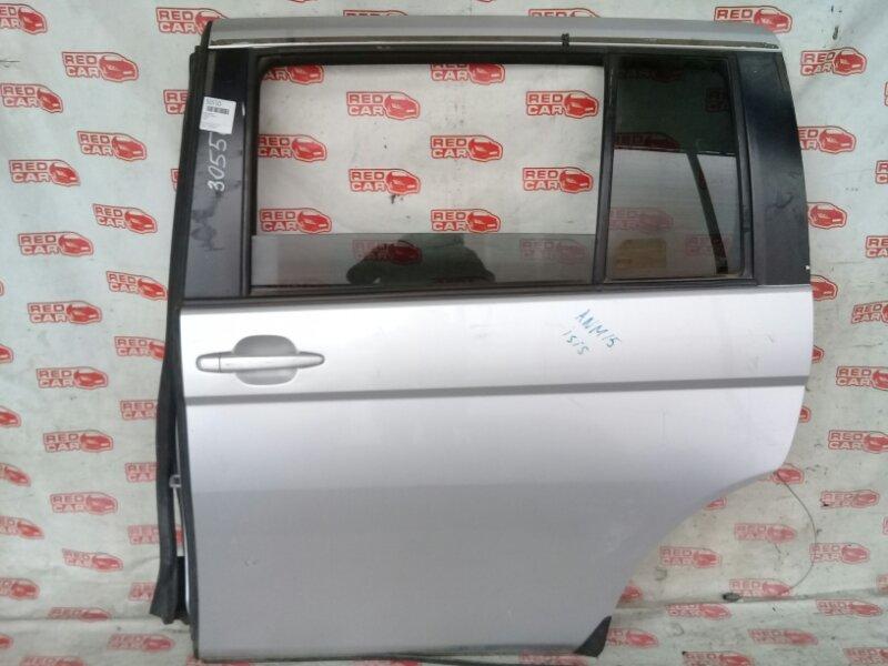 Дверь боковая Toyota Isis ANM15 задняя левая (б/у)