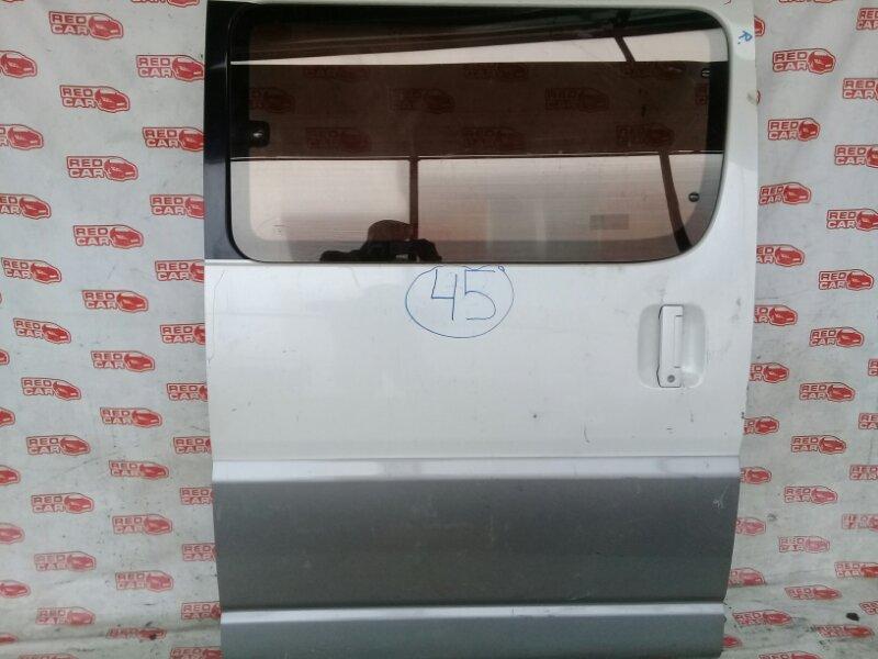 Дверь боковая Toyota Hiace Regius RCH41W задняя правая (б/у)