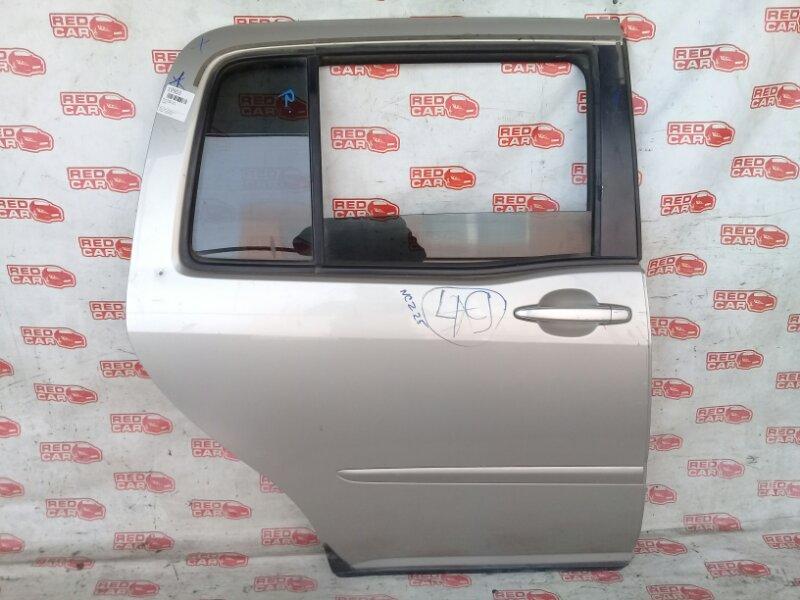 Дверь боковая Toyota Raum NCZ25 задняя правая (б/у)