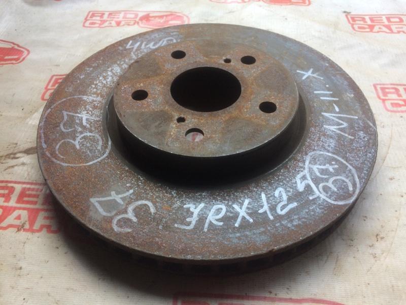 Тормозной диск Toyota Mark X GRX125 передний (б/у)