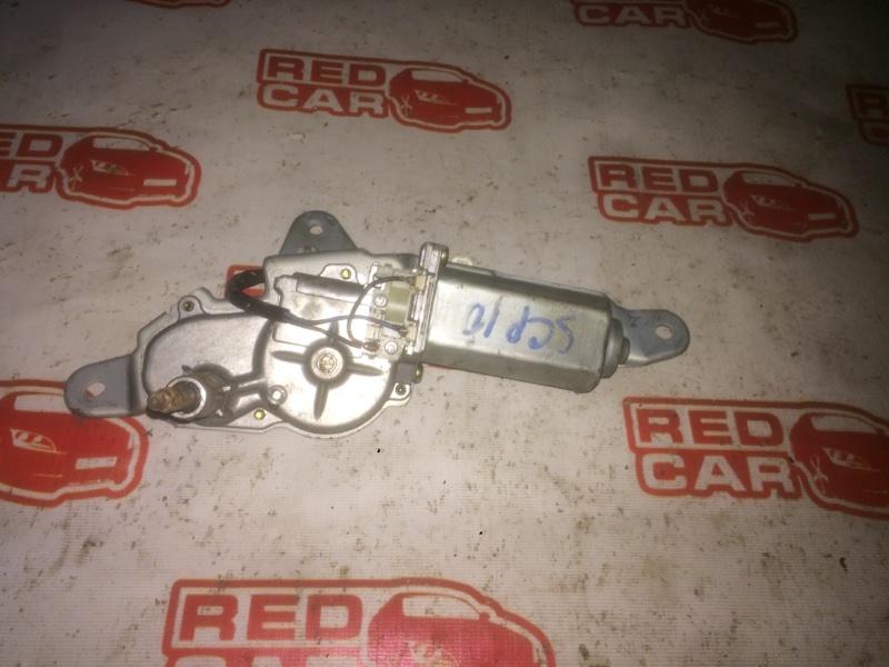 Моторчик заднего дворника Toyota Vitz SCP10 1SZ (б/у)