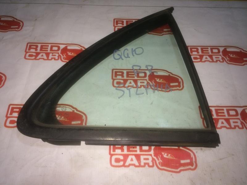 Форточка двери Nissan Bluebird Sylphy QG10 QG15 задняя правая (б/у)