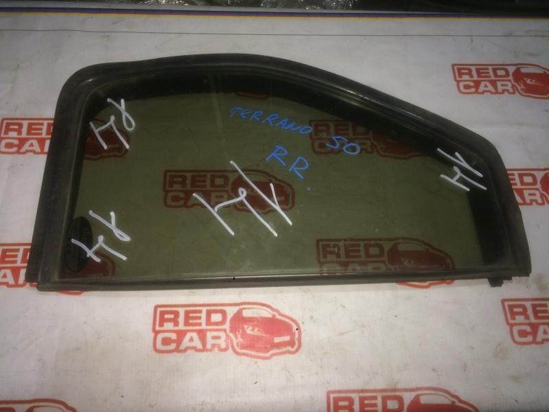 Форточка двери Nissan Terrano LR50 задняя правая (б/у)