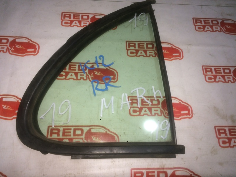 Форточка двери Nissan March K12 задняя правая (б/у)