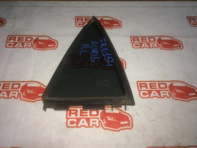 Форточка двери Toyota Auris ZRE154 2ZR задняя левая (б/у)