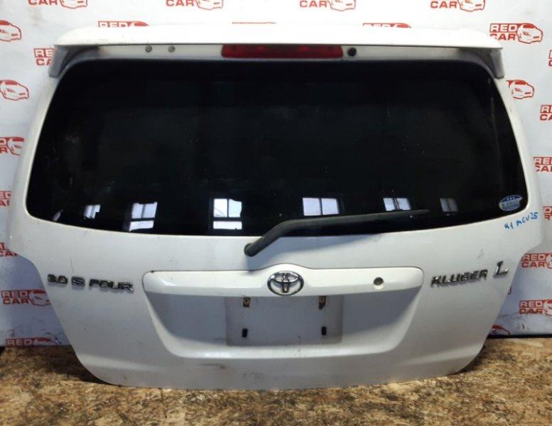 Дверь задняя Toyota Kluger MCU25-0158984 1MZ 2003 (б/у)