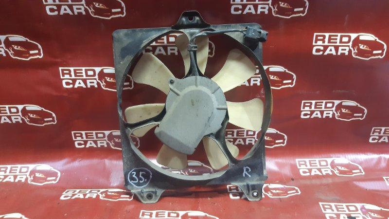 Диффузор радиатора Toyota Tercel EL51-0252182 4E 1998 правый (б/у)