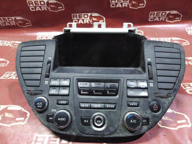 Климат-контроль Nissan Cima HF50-701115 VQ30DET 2004 (б/у)