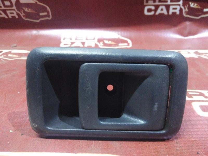 Ручка двери внутренняя Toyota Tercel EL51-0252182 4E 1998 передняя левая (б/у)