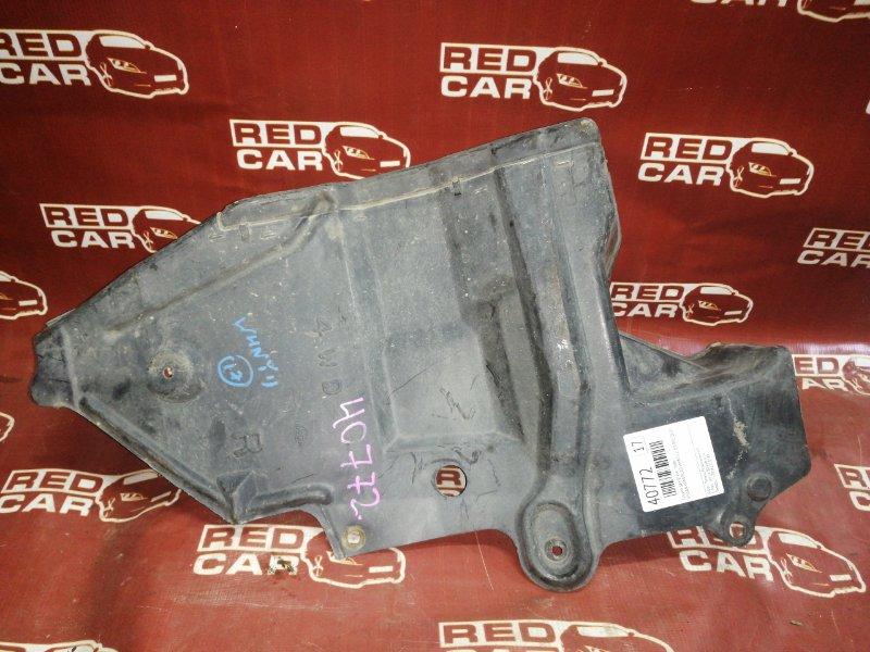 Защита двигателя Nissan Wingroad WHNY11-300892 QG18 2002 правая (б/у)