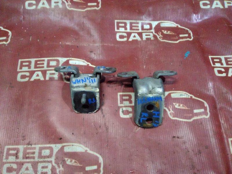 Петля двери Nissan Wingroad WHNY11-300892 QG18 2002 задняя левая (б/у)
