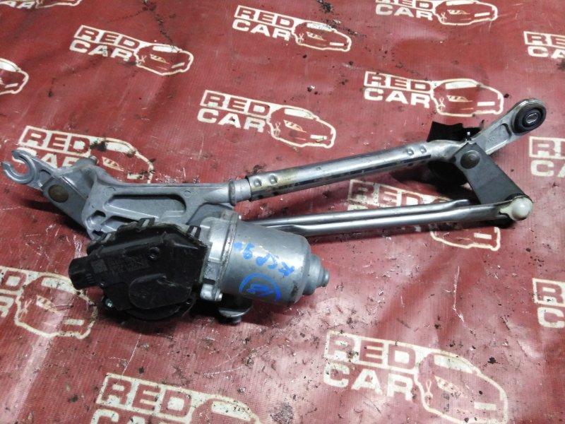 Мотор дворников Toyota Vitz KSP90-5163346 1KR 2009 передний (б/у)