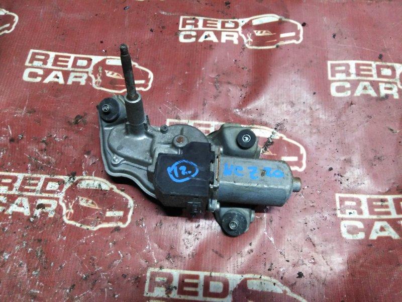 Мотор дворников Toyota Raum NCZ20-0096263 1NZ-FE 2006 задний (б/у)