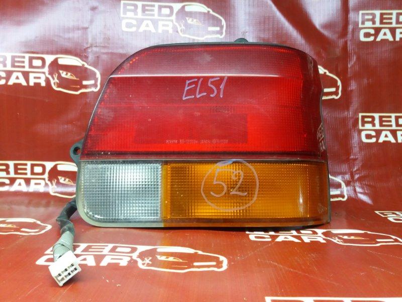 Стоп-сигнал Toyota Corolla Ii EL51-0123850 4E-FE 1996 задний правый (б/у)
