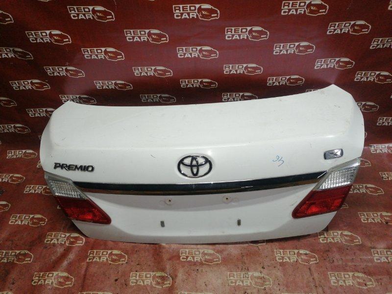 Крышка багажника Toyota Premio ZRT260 2ZR 2007 (б/у)