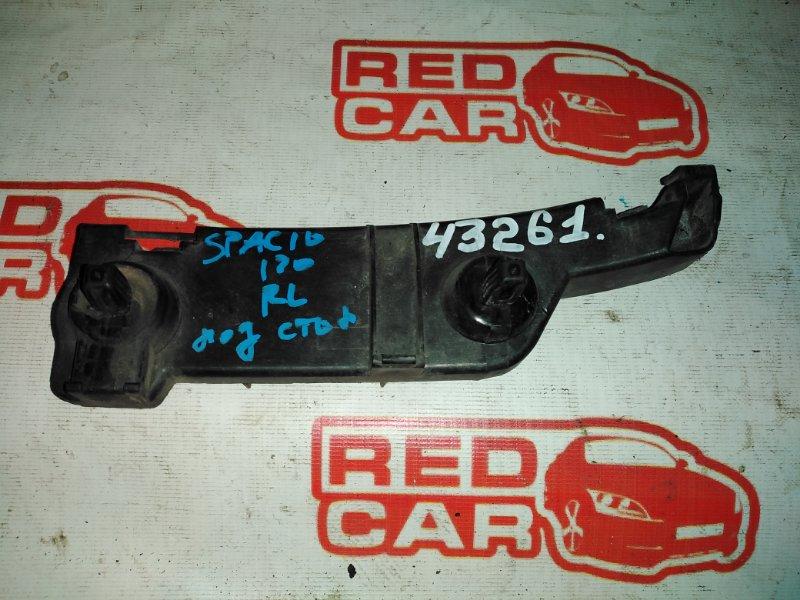 Крепление бампера Toyota Corolla Spacio NZE121 1NZ заднее левое (б/у)