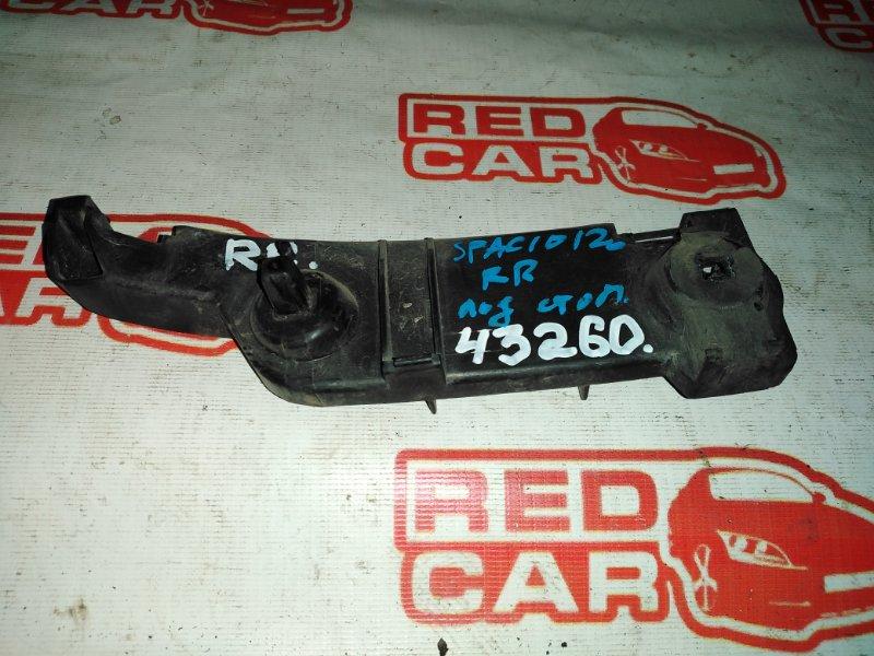 Крепление бампера Toyota Corolla Spacio NZE121 1NZ заднее правое (б/у)