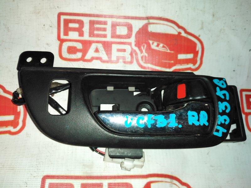 Ручка двери внутренняя Toyota Celsior UCF31 3UZ задняя правая (б/у)