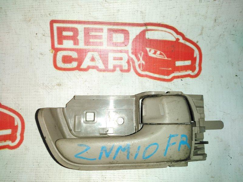 Ручка двери внутренняя Toyota Isis ZNM10 1ZZ передняя правая (б/у)