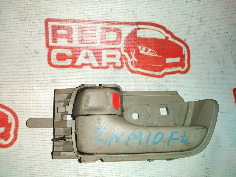 Ручка двери внутренняя Toyota Isis ZNM10 1ZZ передняя левая (б/у)