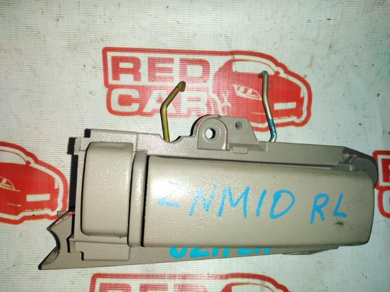 Ручка двери внутренняя Toyota Isis ZNM10 1ZZ задняя левая (б/у)