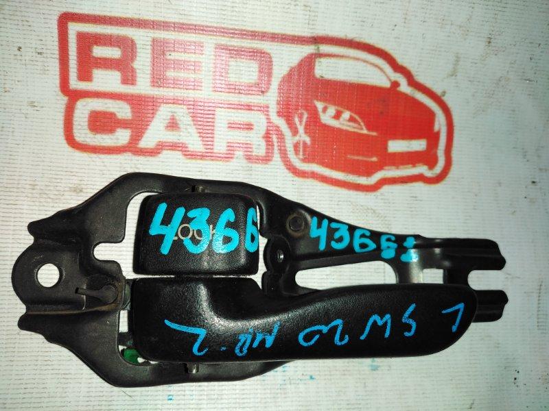 Ручка двери внутренняя Toyota Mr2 SW20 3S-GTE передняя левая (б/у)