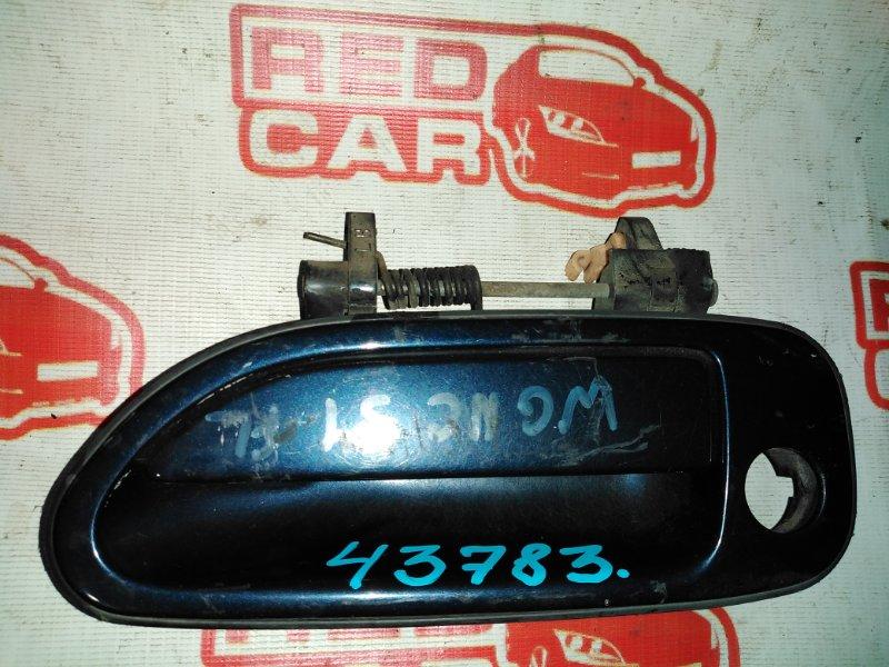 Ручка двери внешняя Nissan Stagea WGNC34 RB25 передняя левая (б/у)