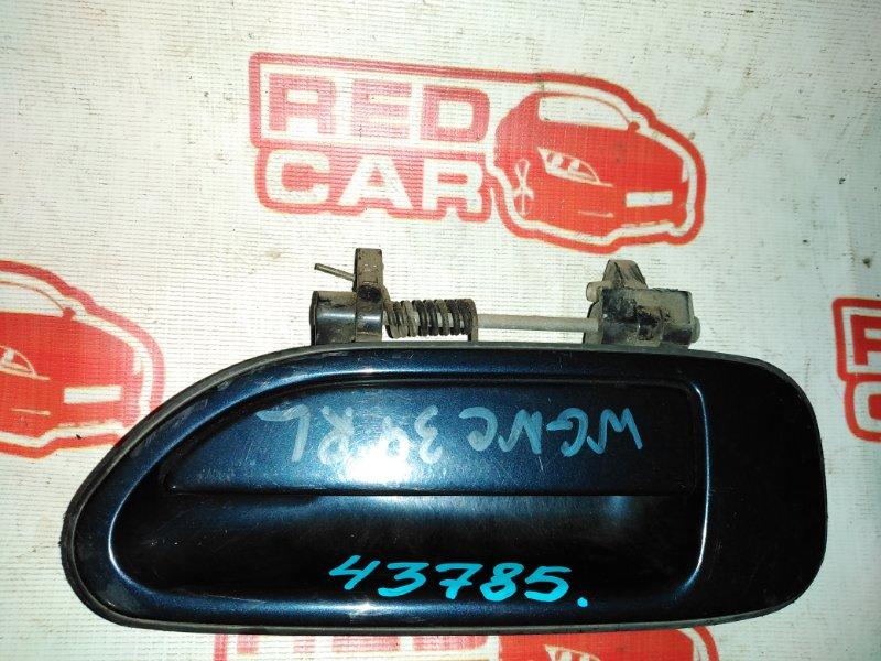 Ручка двери внешняя Nissan Stagea WGNC34 RB25 задняя левая (б/у)