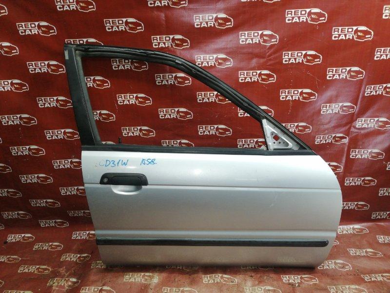 Дверь Suzuki Cultus GD31W-100754 G16A 1996 передняя правая (б/у)