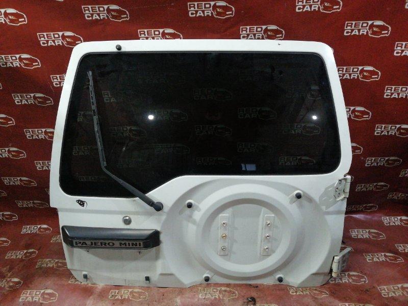 Дверь задняя Mitsubishi Pajero Mini H58A (б/у)