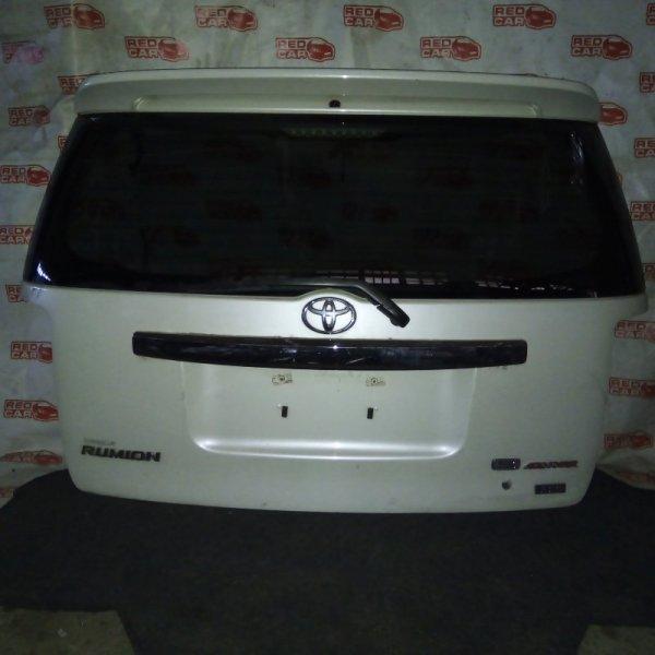 Дверь задняя Toyota Corolla Rumion NZE151 1NZ-FE (б/у)