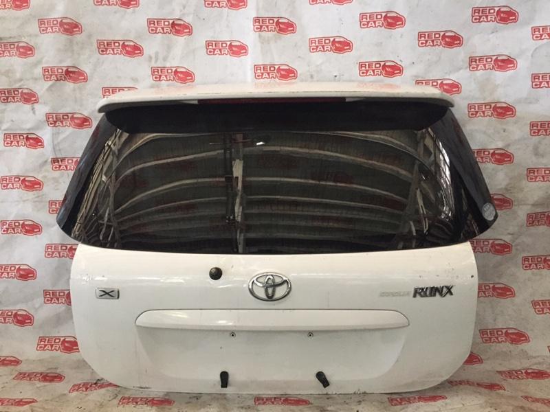 Дверь задняя Toyota Corolla Runx ZZE124 (б/у)