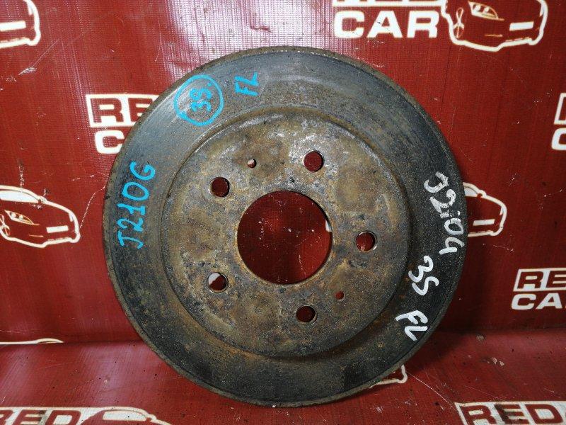 Тормозной диск Toyota Rush Be-Go J210G-0005635 3SZ 2007 передний левый (б/у)