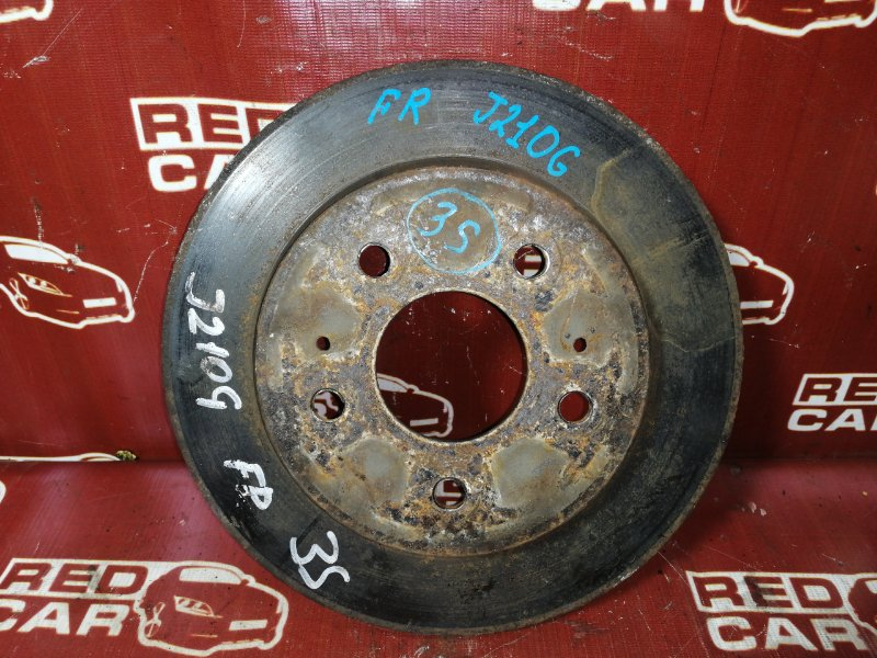 Тормозной диск Toyota Rush Be-Go J210G-0005635 3SZ 2007 передний правый (б/у)
