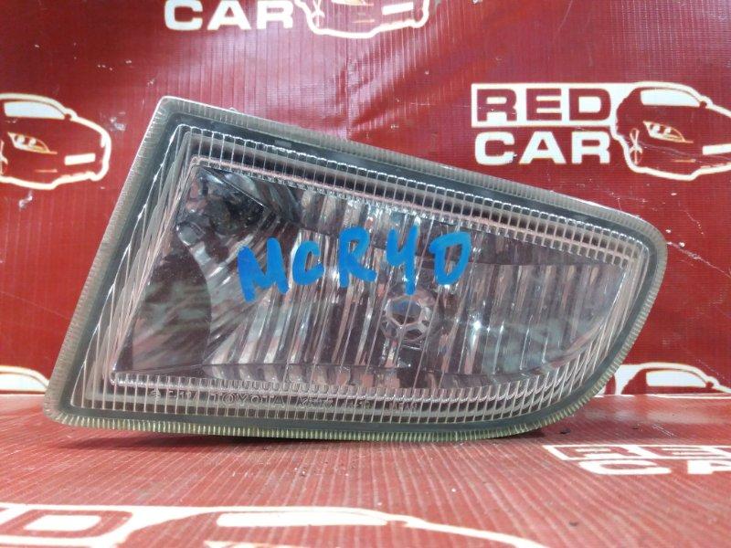 Туманка Toyota Estima MCR40 передняя левая (б/у)
