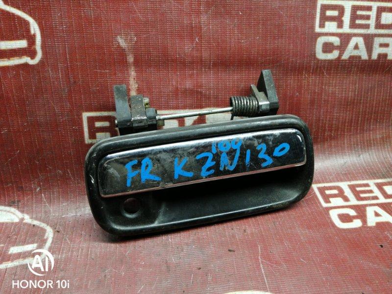 Ручка двери внешняя Toyota Hilux Surf KZN130-9063606 1KZ 1995 передняя правая (б/у)
