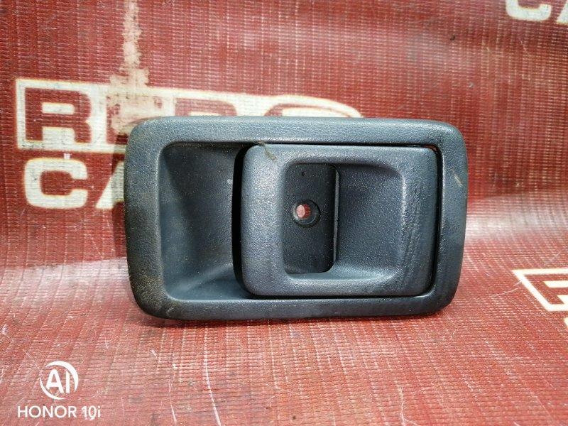 Ручка двери внутренняя Toyota Corolla Ii EL51-0123850 4E-FE 1996 передняя левая (б/у)