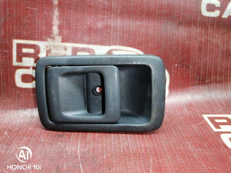Ручка двери внутренняя Toyota Corolla Ii EL51-0123850 4E-FE 1996 передняя правая (б/у)