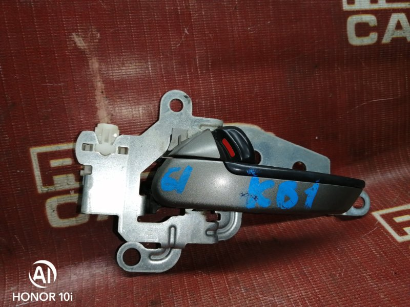 Ручка двери внутренняя Honda Legend KB1-1002826 J35A 2004 задняя левая (б/у)