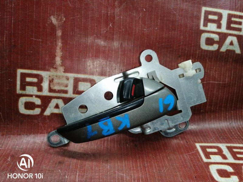 Ручка двери внутренняя Honda Legend KB1-1002826 J35A 2004 задняя правая (б/у)