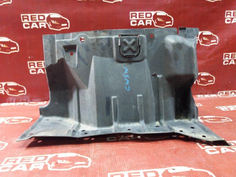 Защита двигателя Mitsubishi Outlander CW5W 4B12 передняя правая (б/у)